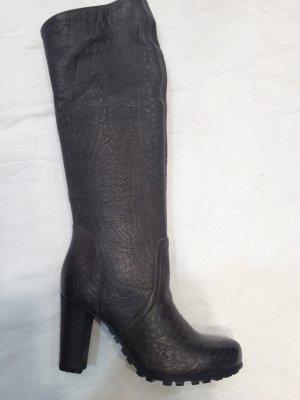 Cafènoir High Boots grey leather