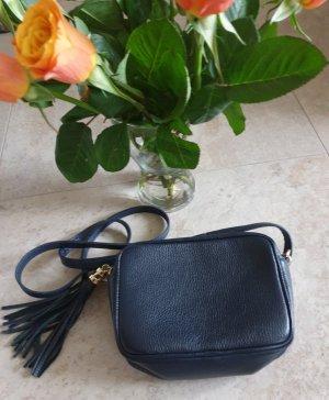 Italienische Tasche dunkelblau