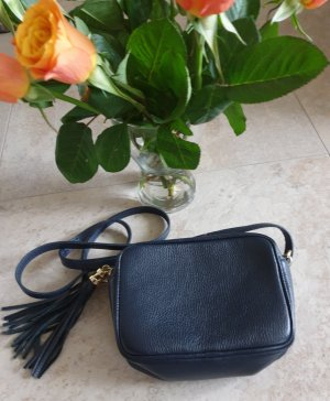 Borse in Pelle Italy Handbag dark blue
