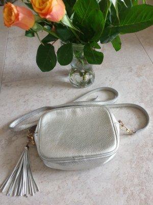 Italienische Tasche ....Silber