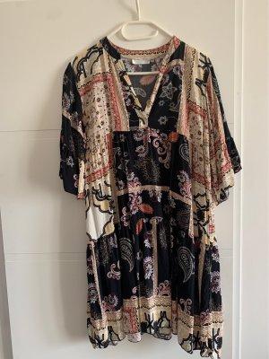 Vestido Hippie multicolor Viscosa