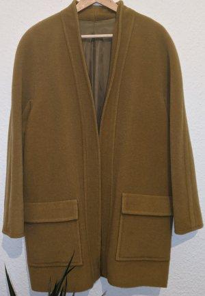 Giorgio Grati Abrigo de lana marrón arena-ocre Lana