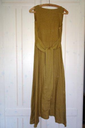 Maxi Dress ocher linen