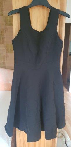 Italienisches schwarzes Trägerkleid,  L, Rinascimento