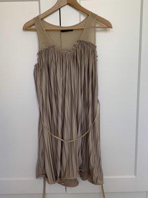 Chiffon Dress sand brown