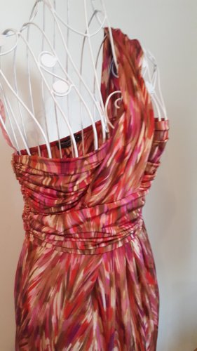 La Rinascimento One Shoulder Dress multicolored