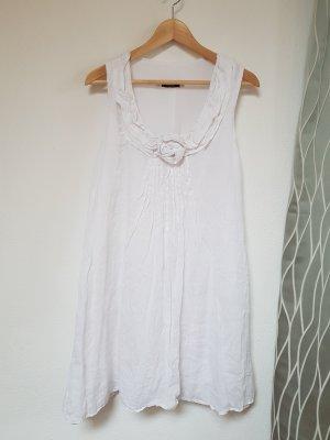 Motel Vestido de Verano blanco