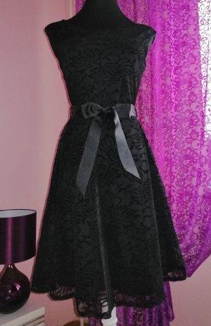 Italy Damen Kleid   schwarz Gr. 38 40