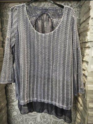 0039 Italy Jersey de cuello redondo gris pizarra