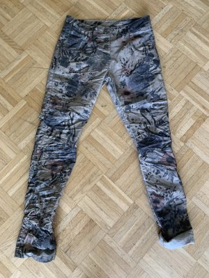 Made in Italy Pantalón de cinco bolsillos multicolor Algodón