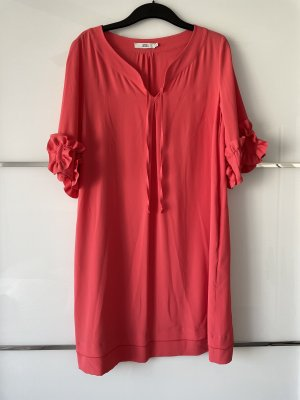0039 Italy Tunic Dress brick red