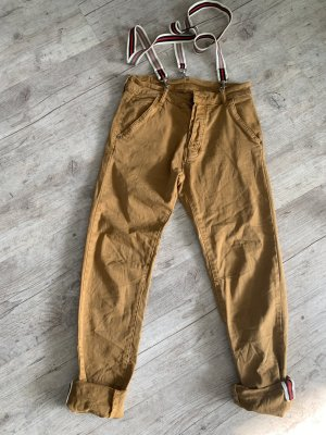 ITALY Pants/Chino - Camel/Brown - Latz - Größe XS 32/34 Flexibel!
