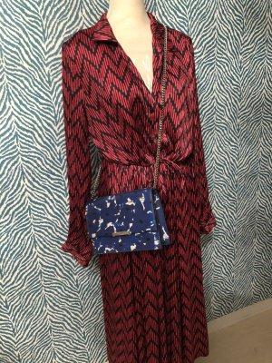Ivanka Trump Handtasche blau weiß crossbody