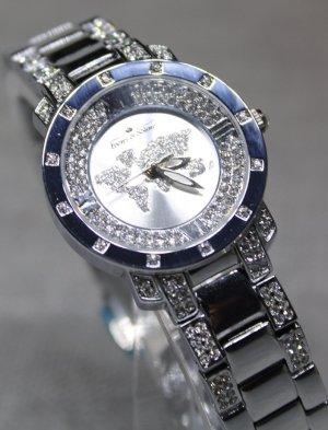 Ivens & Söhne Reloj con pulsera metálica color plata