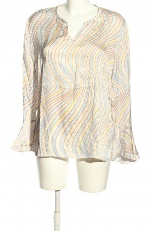 Ivi collection Seidenbluse Allover-Druck Casual-Look