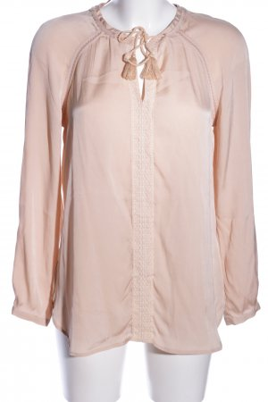 Ivi collection Seidenbluse creme Business-Look