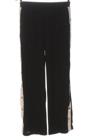 Ivivi Pantalón tipo suéter negro look casual