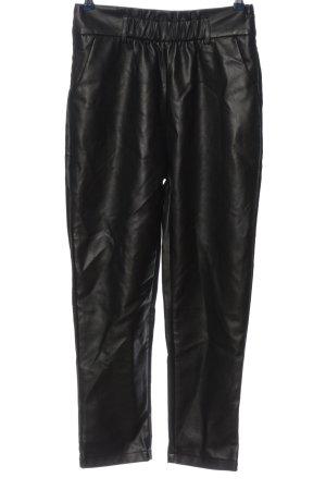 Ivivi Stoffhose schwarz extravaganter Stil