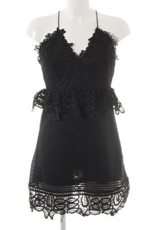 Ivivi Trägerkleid schwarz schlichter Stil