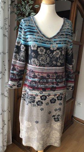 Ivko Wollen jurk veelkleurig