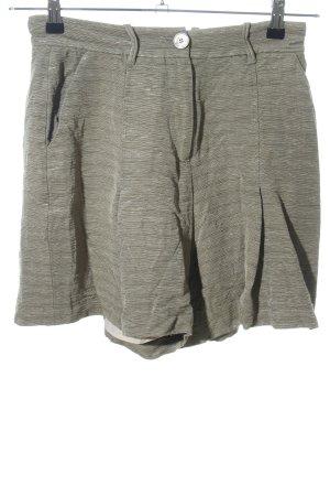 Ivy & Oak Bundfaltenhose khaki Streifenmuster Casual-Look