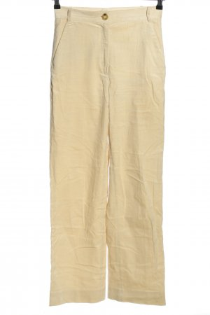 Ivy & Oak Corduroy Trousers natural white striped pattern casual look