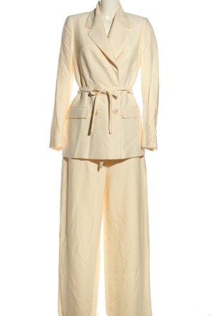 Ivy & Oak Tailleur pantalone bianco sporco stile professionale