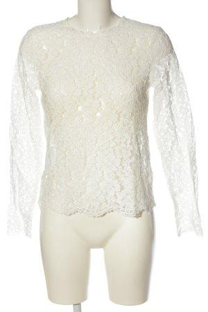 Ivy & Oak Langarm-Bluse weiß Casual-Look