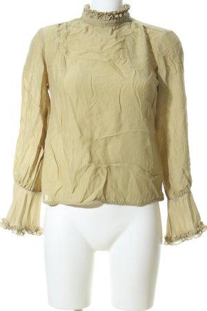 Ivy & Oak Schlupf-Bluse goldfarben Casual-Look