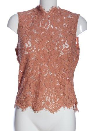 Ivy & Oak Blusa in merletto rosa stile casual