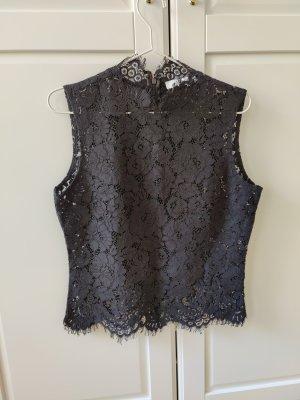 Ivy & Oak Lace Top black