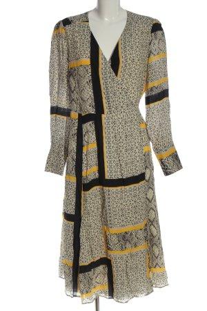 Ivy & Oak Robe portefeuille motif abstrait élégant