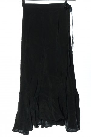 Ivy & Oak Wraparound Skirt black casual look