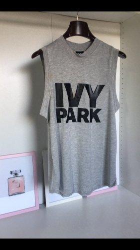 Ivy Park Camicia oversize grigio chiaro-nero