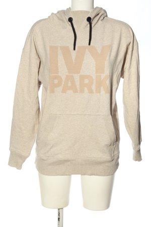 Ivy Park Kapuzensweatshirt creme-nude meliert Casual-Look