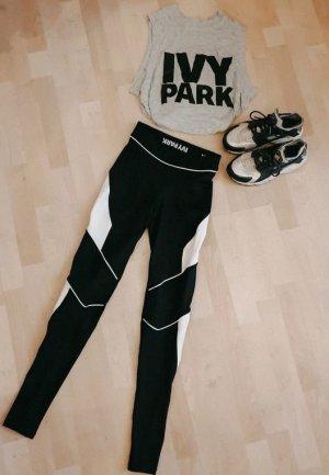 Ivy Park Trackies black-white