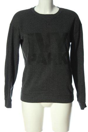 Ivy Park Sweatshirt hellgrau meliert Casual-Look