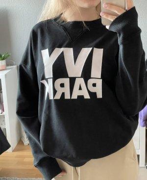 Ivy Park Sweatshirt / Crewneck schwarz, oversized Größe M