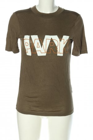Ivy Park T-Shirt Schriftzug gedruckt Casual-Look