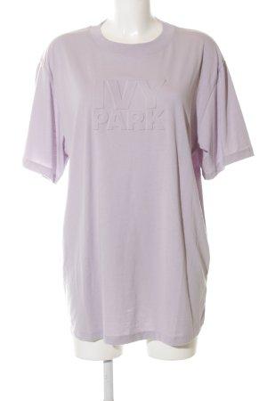 Ivy Park T-Shirt pink Schriftzug gedruckt Casual-Look