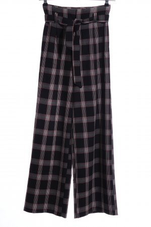 Ivy Rebel High Waist Trousers check pattern casual look