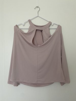 Ivy Revel Langarm Shirt Top Rosa L neu