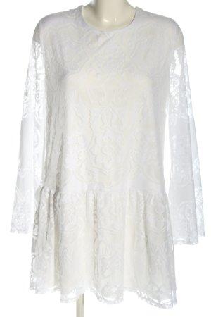 Ivyrevel Abito blusa bianco stampa integrale stile professionale