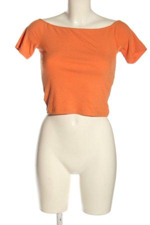 Ivyrevel Top corto arancione chiaro stile casual