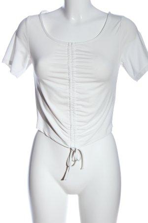 Ivyrevel Top corto bianco stile casual