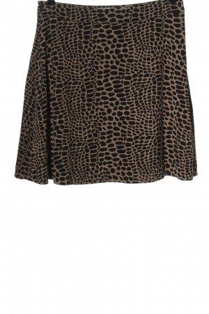 Ivyrevel Flared Skirt brown-black allover print casual look