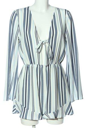 Ivyrevel Jumpsuit blau-weiß Streifenmuster Casual-Look