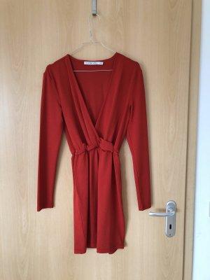 IvyRevel Kleid mit V-Ausschnitt & Gummibund an der Tailie