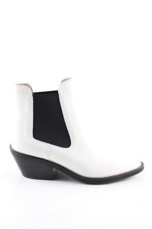 Ivyrevel Kurzstiefel weiß-schwarz Casual-Look
