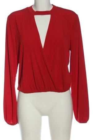 Ivyrevel Camicetta a maniche lunghe rosso stile professionale